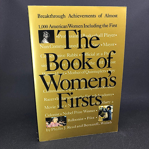 THE BOOK OF WOMENS FIRSTS