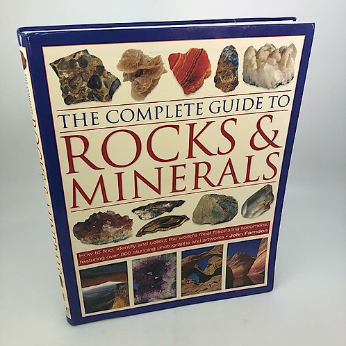 ROCKS & MINERALS THE COMPLETE GUIDE TO, BY JOHN FARDON