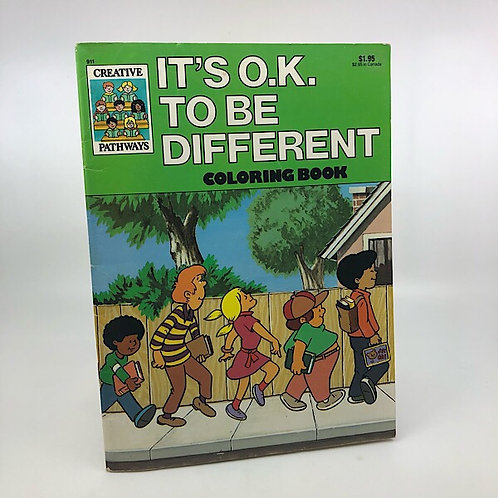 IT'S OK TO BE DIFFERENT COLORING BOOK