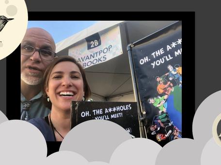 Book Launch Success for Avantpop Books at the Las Vegas Book Fest 2019
