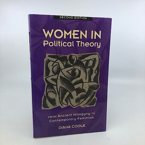 WOMEN IN POLITICAL THEORY BY DIANA COOLE