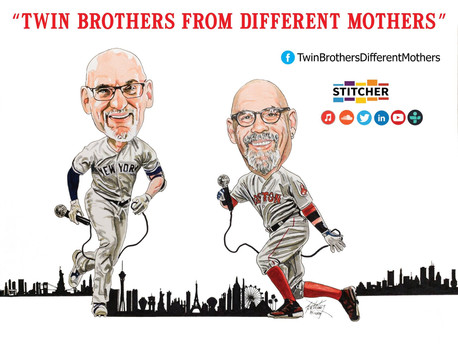 Featured Guest, Author Shwa Laytart, on Vegas Podcast Twin Brothers From Different Mothers