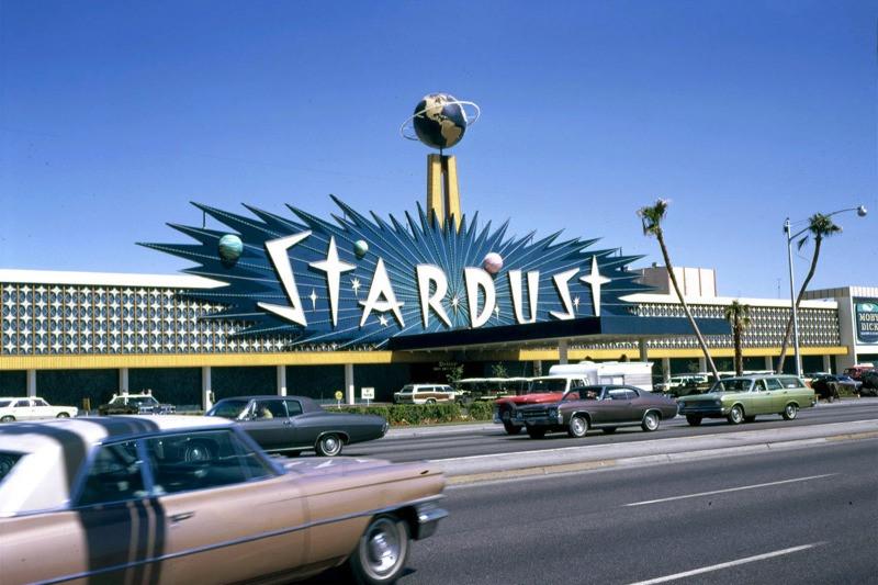 Stardust Resort Las Vegas opened 1958