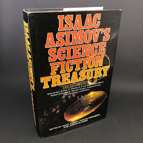 ISAAC ASIMOVS SCIENCE FICTION TREASURY TWO VOLUMES IN ONE