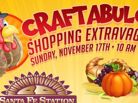 NEXT UP: 11/17/19 Craftabulous Las Vegas Craft Show at Santa Fe Station