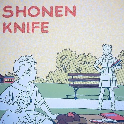 Shonen Knife Signed Limited Edition Concert Poster Art