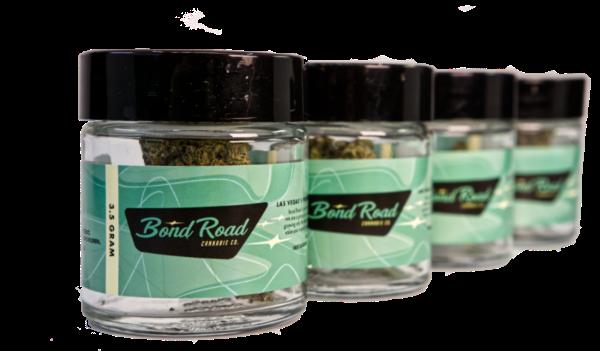 Bond Road Cannabis Bonded 99 Jar lineup