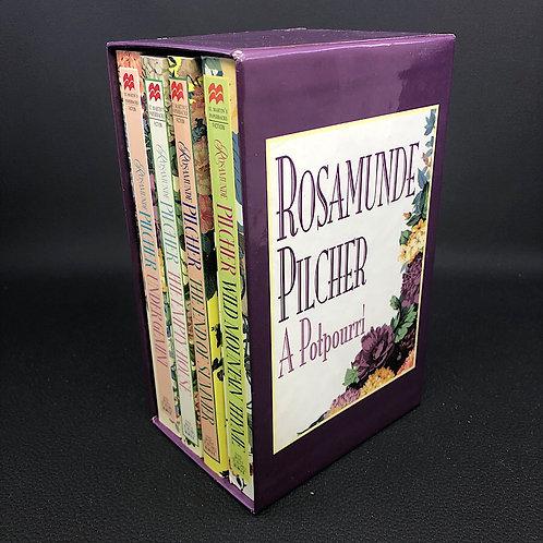4 BOOKS: ROSAMUNDE PILCHER A POTPOURRI BOX SET