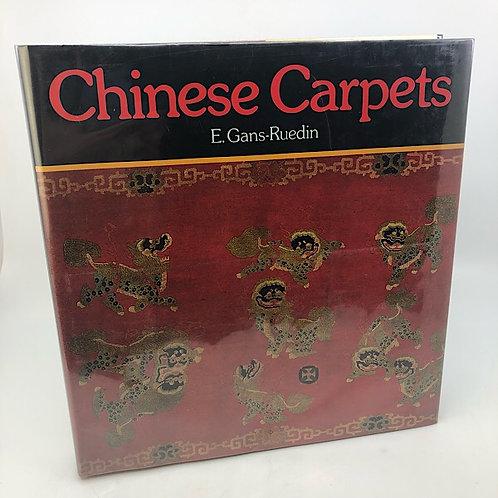 CHINESE CARPETS BY E. GANS-RUEDIN