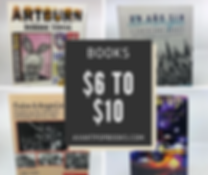 books 6 to 10 dollars