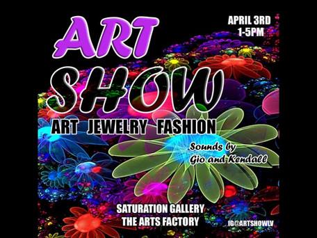 NEXT UP: 4/3/21 Art Show Downtown Las Vegas FREE Event