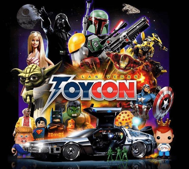 Toycon Coolworld Las Vegas banner
