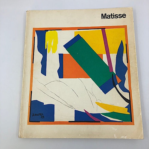 MATISSE 1869-1954 BY THE ART COUNCIL OF GREAT BRITAIN 1968