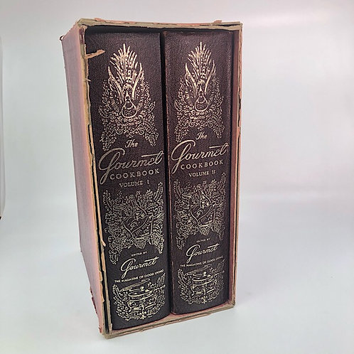 THE GOURMET COOKBOOK VOLUME 1 & 2 BOX SET BY JEAN TEMPLE