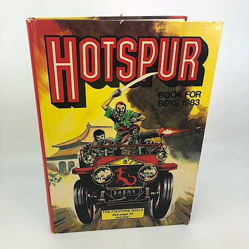 HOTSPUR BOOK FOR BOYS 1983