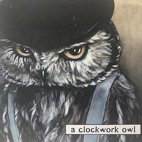 """Clockwork Owl"" Art Print By Who?"
