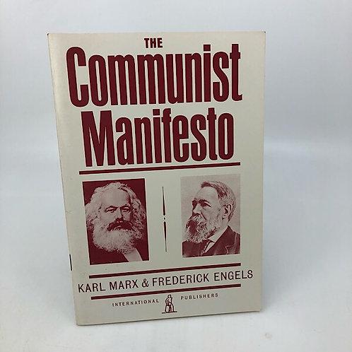 THE COMMUNIST MANIFESTO KARL MARX & FREDERICKS ENGELS