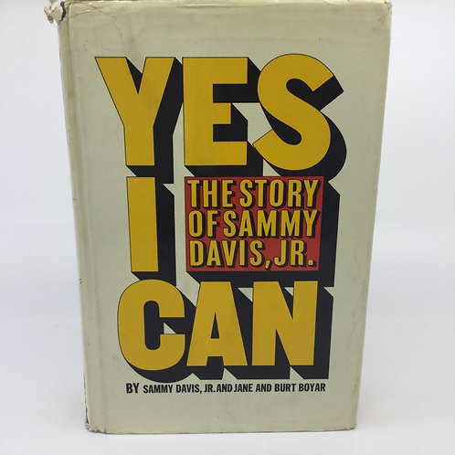 YES I CAN : THE STORY OF SAMMY DAVIS, JR. BY SAMMY DAVIS JR. (SIGNED)