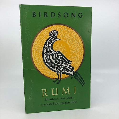BIRDSONG BY RUMI