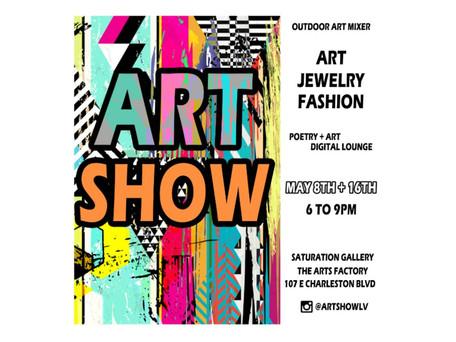 NEXT UP: 5/8 + 5/16/21 Art Show Downtown Las Vegas FREE Event