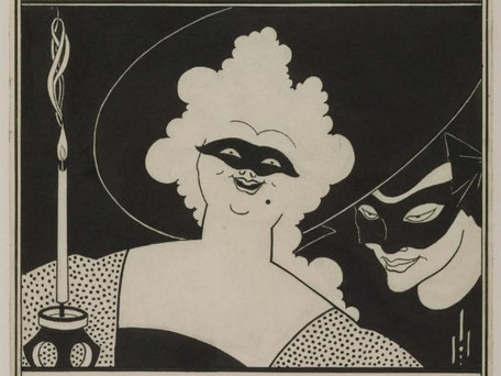 Aubrey Beardsley, Notable and Controversial Artist of the 19th Century Decadent Movement