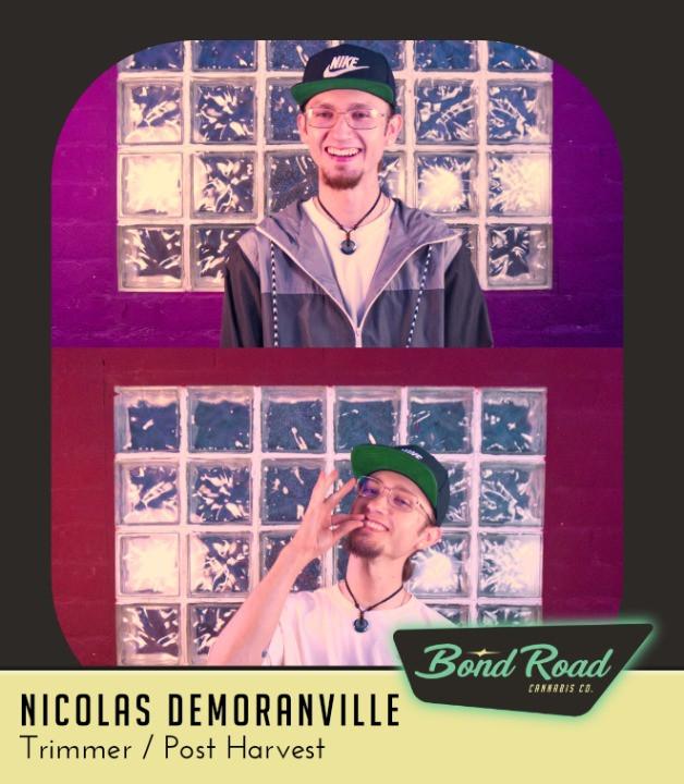 Nicolas DeMoranville at the Arts Factory in Downtown Las Vegas