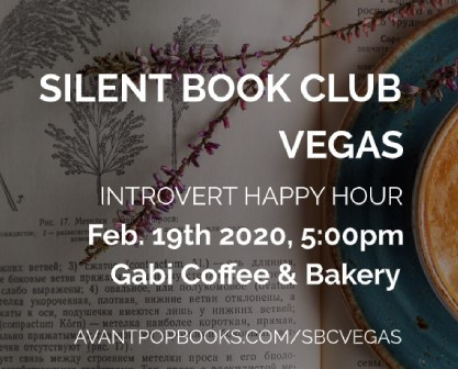 NEXT UP: 2/19/20 Silent Book Club Vegas at Gabi Coffee CAFE Edition