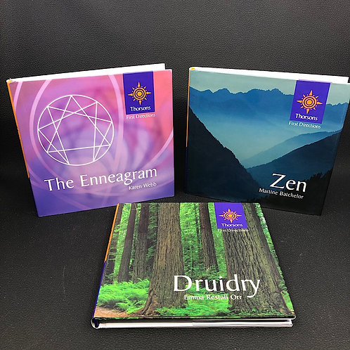 3 BOOKS: ZEN, THE ENNEAGRAM, DRUIDRY (FIRST DIRECTIONS)