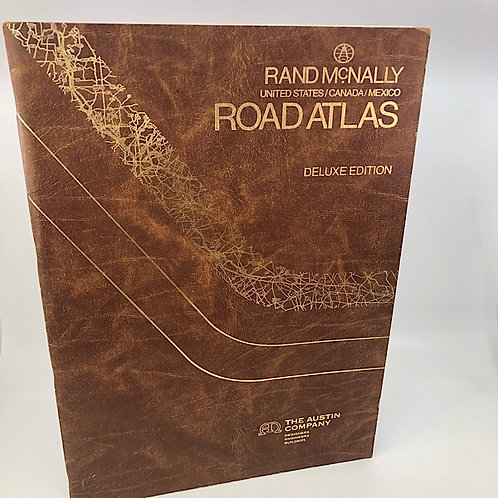 DELUXE ROAD ATLAS: UNITED STATES/CANADA/MEXICO BY RAND MCNALLY