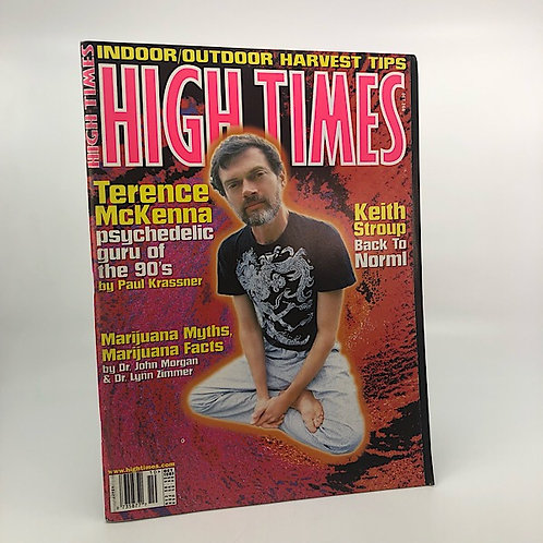 HIGH TIMES: TERENCE MCKENNA INTERVIEW BY PAUL KRASSNER OCT. 1997 ISSUE