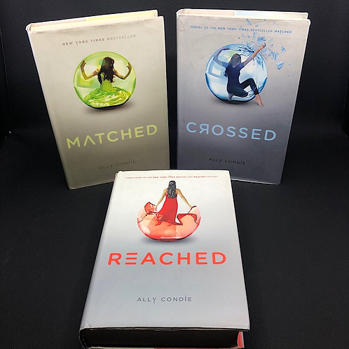 3 BOOKS: ALLY CONDIE MATCHED TRILOGY