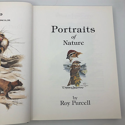 PORTRAITS OF NATURE BY ROY PURCELL HARDCOVER