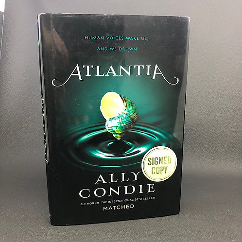 ATLANTIA BY ALLY CONDIE (SIGNED)