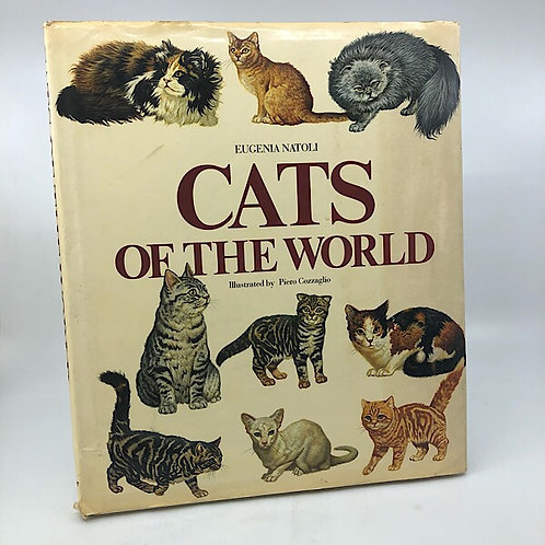 CATS OF THE WORLD BY EUGENIA NATOLI ILLUSTRATED BY PIERO COZZAGLIO