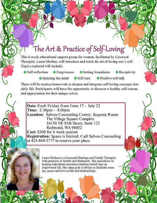 The Art & Practice of Self-Loving Support Group