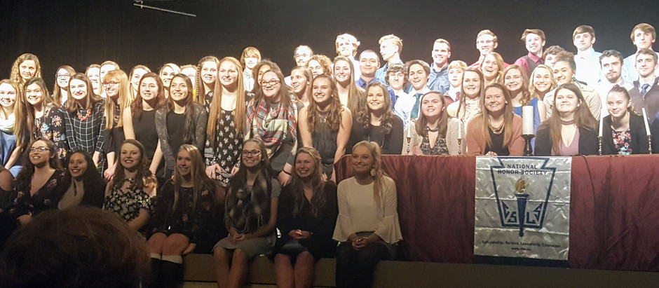 MHS Inducts 133rd NHS Class