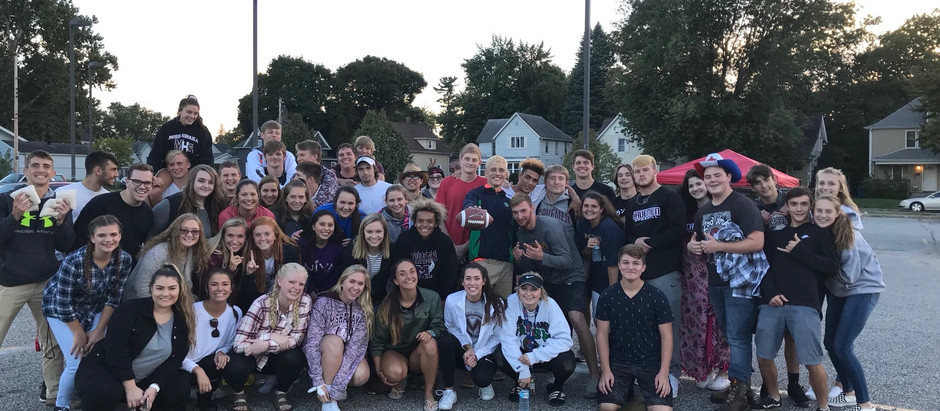 MHS Students Come Together in Preparation for Homecoming