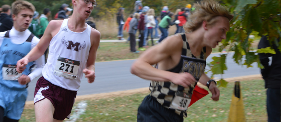 Sports: XC Seniors, Richardson and Duvall, lead teams with a pair of second place finishes