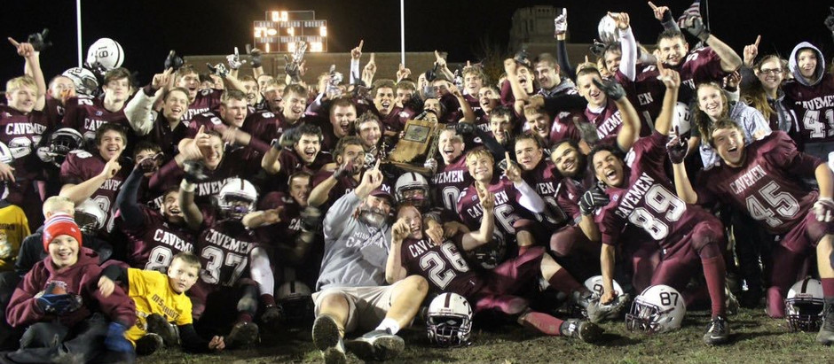 Cavemen Get Redemption, Sectional Title, and One More Monday