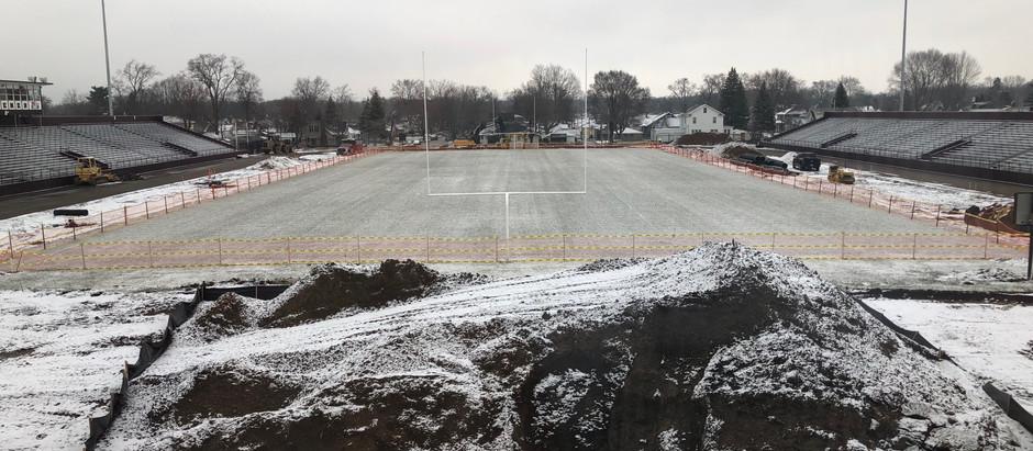 MHS Track Improvement Updates