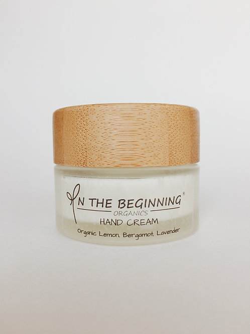 Natural/Vegan Organic Lemon, Bergamot, Lavender mini hand cream/lotion/moisturizer