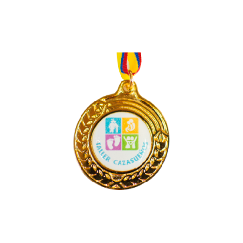 M20. Medalla con baño de oro