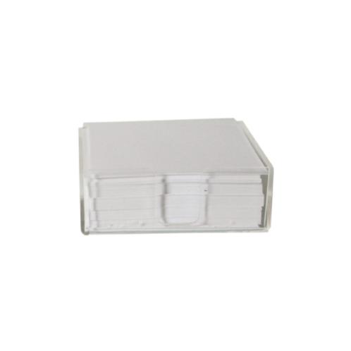 179. Porta tacos en acrilico. Incluye 250 hojas