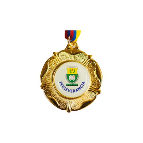 M18. Medalla con baño de oro