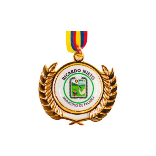 M30. Medalla con baño de oro