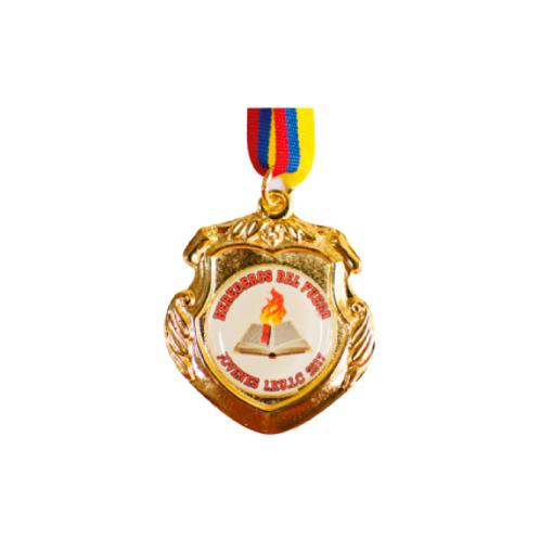 M22. Medalla con baño de oro