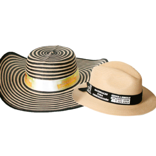 159. Sombrero publicitario
