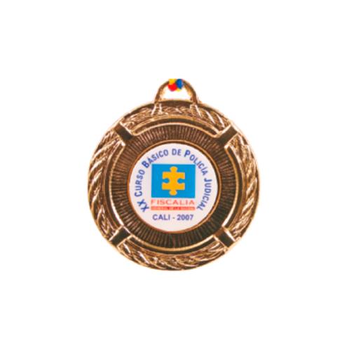 M08. Medalla estándar