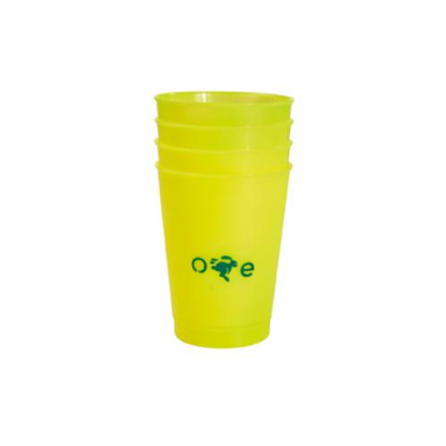 087. Vasos x 4 und 200 ml.
