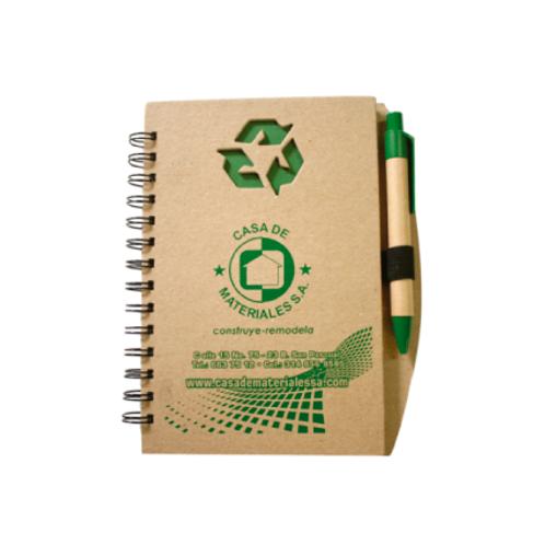 289. Agenda ecológica 13,7 x 21 cm